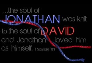 the friendship between david and jonathan